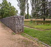 Gabionová zeď