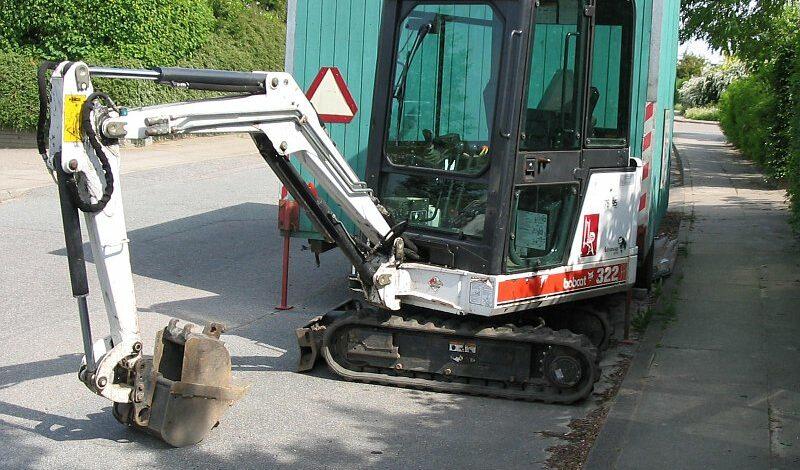 Pásový minibagr bobcat
